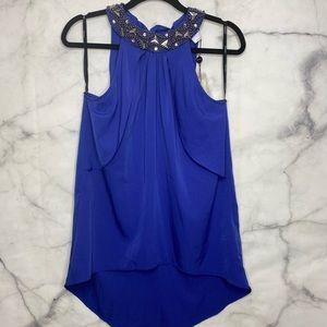 💕3/$50💕 Vero Moda Sleevless Blue Purple Top